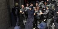 الاحتلال يعتقل 4 سيدات من باب الرحمة بعد الاعتداء عليهن