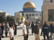 عشرات المستوطنين يجددون اقتحاماتهم الاستفزازية للمسجد الأقصى