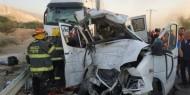 مصرع شابين وإصابة ثالث بجروح خطيرة بحادث سير جنوب الخليل