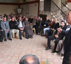 الأخ أحمد حلس يستقبل مخاتير ووجهاء قطاع غزة