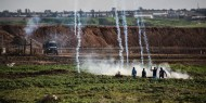 غزة: شهيدان ومئات الجرحى جراء قمع الاحتلال مسيرات يوم الأرض السلمية