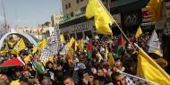 """""""فتح"""" تنظم مسيرة دعم للرئيس واسناد للقدس والأسير أبو عطوان"""