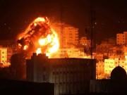 8 إصابات جراء سقوط صاروخ إسرائيلي قرب منزل في حي الشجاعية