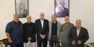 """""""محافظو غزة"""" ينددون بورشة البحرين ويجددون البيعة للسيد الرئيس"""