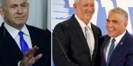 """حزب """"أزرق- أبيض"""" يمهل نتنياهو حتى نهاية الشهر الجاري لتمرير الميزانية"""