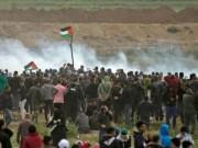 اصابات خلال مهاجمة الاحتلال المسيرات الاسبوعية شرق غزة