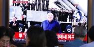 تجربة صاروخية كورية شمالية وسقوط صاروخ في مياه اليابان