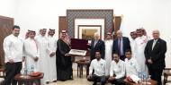 الرئيس يستقبل بعثة المنتخب السعودي: زيارتكم تجسد العلاقة التاريخية بين البلدين