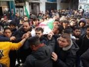 جماهير شعبنا تشيع جثامين خمسة شهداء شمال قطاع غزة