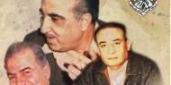 """حياة عمالقة الثورة الفلسطينية المناضل صلاح خلف """"أبو إياد""""، والمناضل هايل عبد الحميد """"أبو الهول""""، والمناضل فخري العمري """"أبو محمد""""."""
