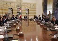 """""""الحكومة اللبنانية ليست حزبية""""في أولى جلساتها"""