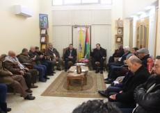 قيادة حركة فتح في قطاع غزة تجتمع بحضور عضوي اللجنة المركزية حلس وصيدم