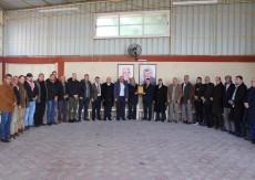 قيادة فتح في قطاع غزة تستقبل وفداً من الجبهة الديمقراطية للتهئنة بذكرى الإنطلاقة
