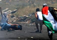 اصابة أربعة مواطنين خلال مواجهات مع الاحتلال في بيتا