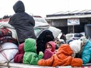 سورية تشهد أكبر حركة نزوح منذ الحرب العالمية الثانية