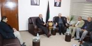 د. ابو هولي والصالحي يؤكدان بأن الوحدة الوطنية وانهاء الانقسام اقصر الطرق لاسقاط صفقة القرن