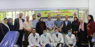 حركة فتح مفوضية الأتحادات و النقابات العمالية و المكتب الحركي أقليم غرب غزة تنفذ حملة للتبرع بالدم.