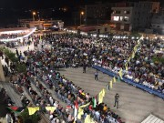 حركة فتح اقليم رفح تنظم مهرجان حاشد لتكريم المتفوقين من أوائل الثانوية العامة
