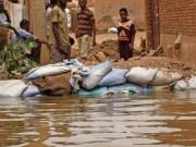 أكثر من مئة ضحية وانهيار عشرات آلاف المنازل جراء الفيضانات في السودان