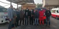 فتح -  إقليم شمال غزة تزور مقر جمعية الهلال الأحمر الفلسطيني بشمال غزة