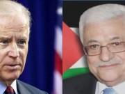 اتصال هاتفي بين الرئيس عباس والرئيس بايدن